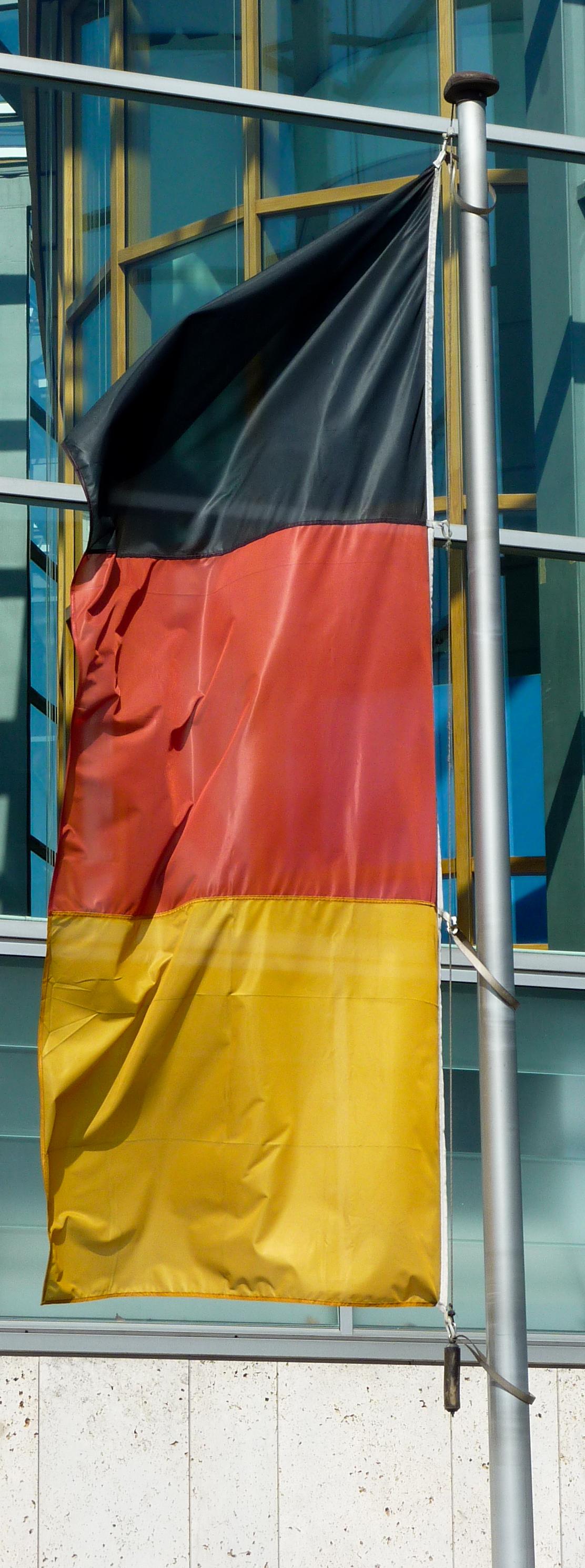 Rot gelbe streifen stern flagge Flagge Gelb